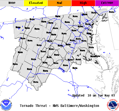 Tropical Tornado Threat