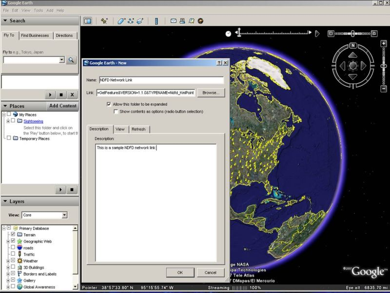 Tutorial on Using Googel Earth and the National Digital