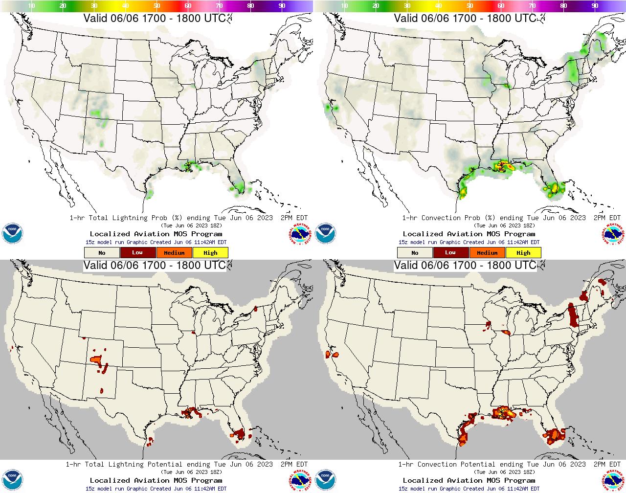 Probability Lightning Map